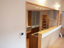最新式のキッチン
